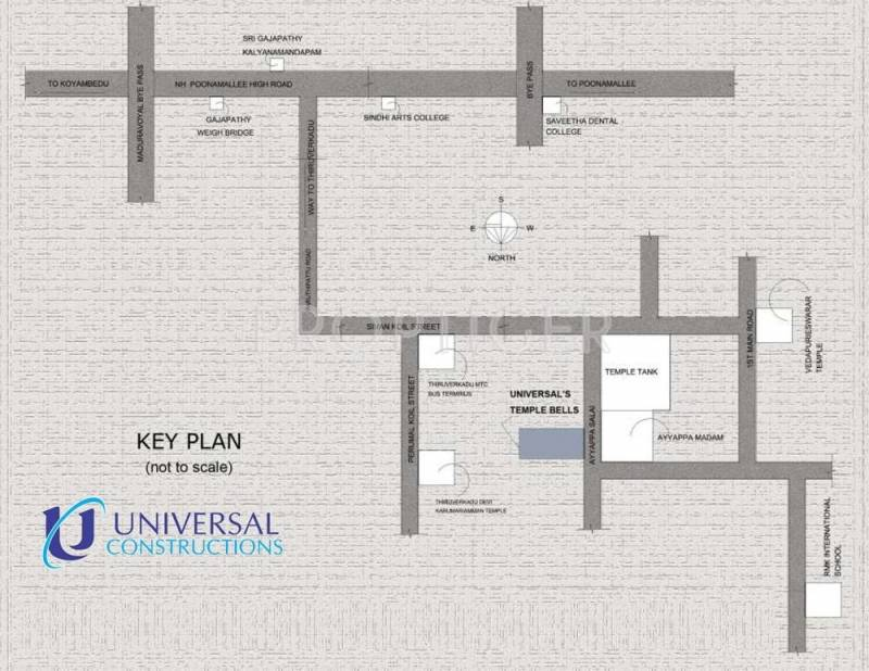 Images for Location Plan of Universal Temple Bells