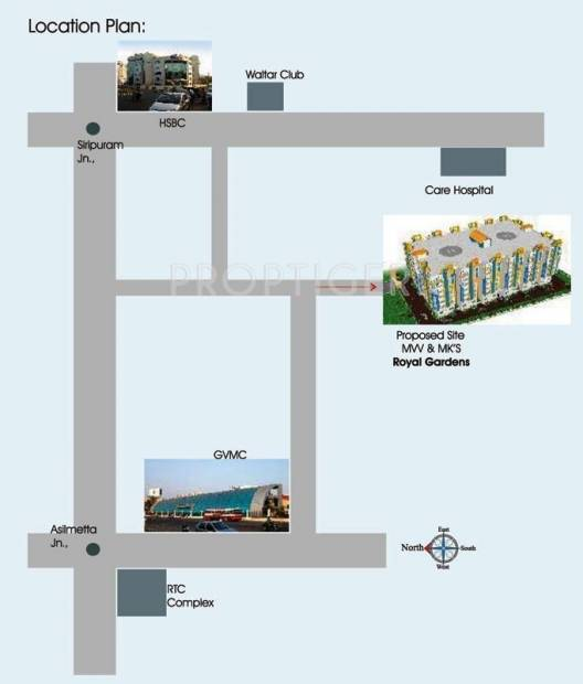Images for Location Plan of  Royal Gardens