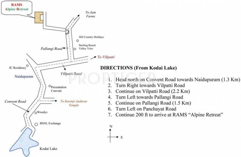 Images for Location Plan of Rams Builders Alpine Retreat Villas