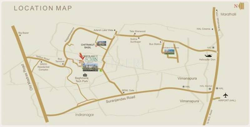 scion Images for Location Plan of Chitrakut Scion