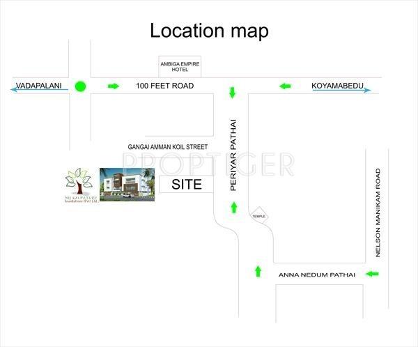 Images for Location Plan of Sri Choolaimedu