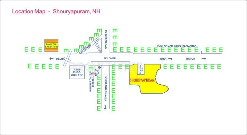 Images for Location Plan of Shourya Siddhi