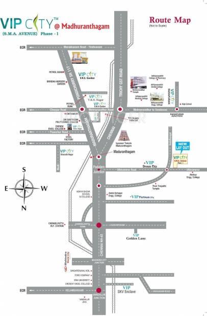VIP City SMA Avenue Phase 1 Location Plan