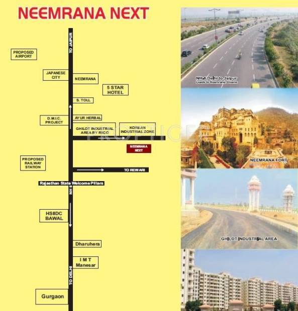 Images for Location Plan of Zenext Neemrana Next