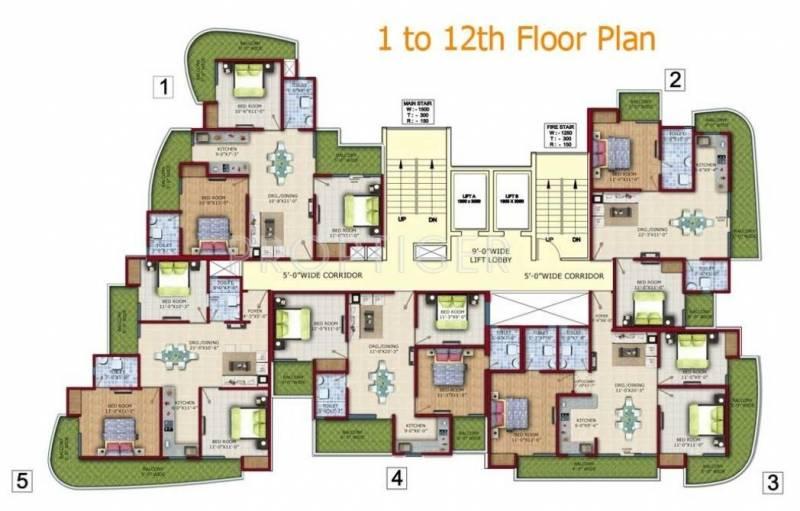 Images for Cluster Plan of Vedantam Minaret