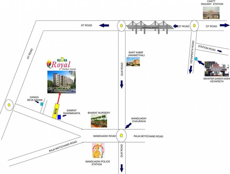 Images for Location Plan of Rudra Royal