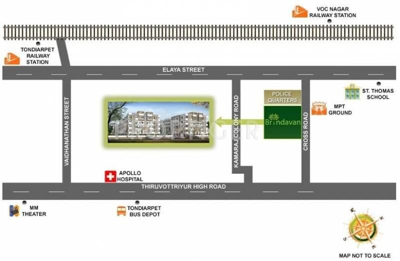 Images for Location Plan of Advaita Homes Brindavan