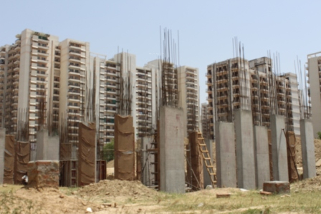 Residential Elevation Plan : Adore happy homes grand in sector faridabad price