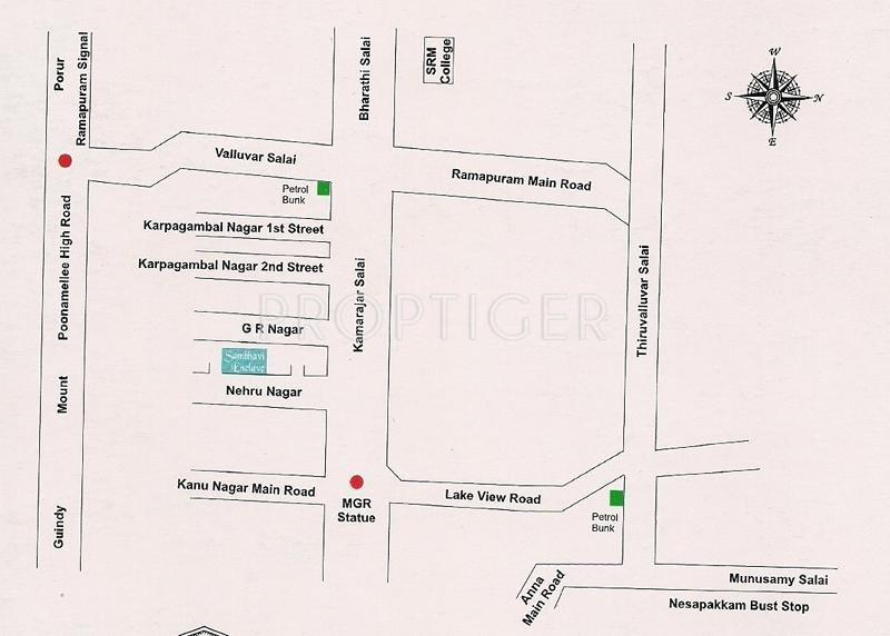 Images for Location Plan of BSR Sambhavi Enclave