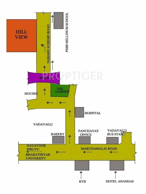 Images for Location Plan of Srivatsa Hill View Phase2