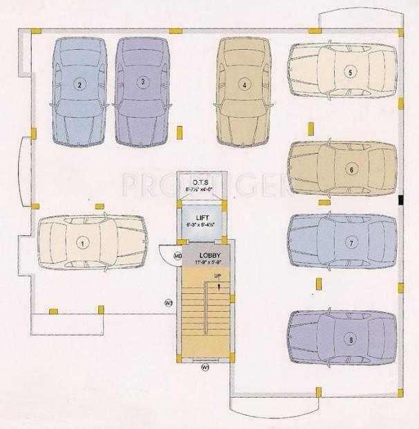 Images for Cluster Plan of BSR Sri Bala Enclave
