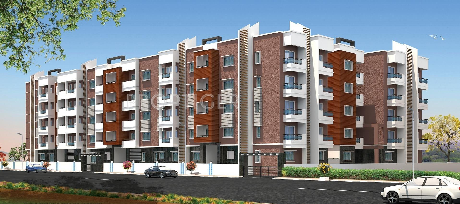 1000 Sq Ft 2 Bhk 2t Apartment For Sale In Perody Builders