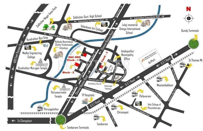Images for Location Plan of Bhaveshwar Oro Block 3