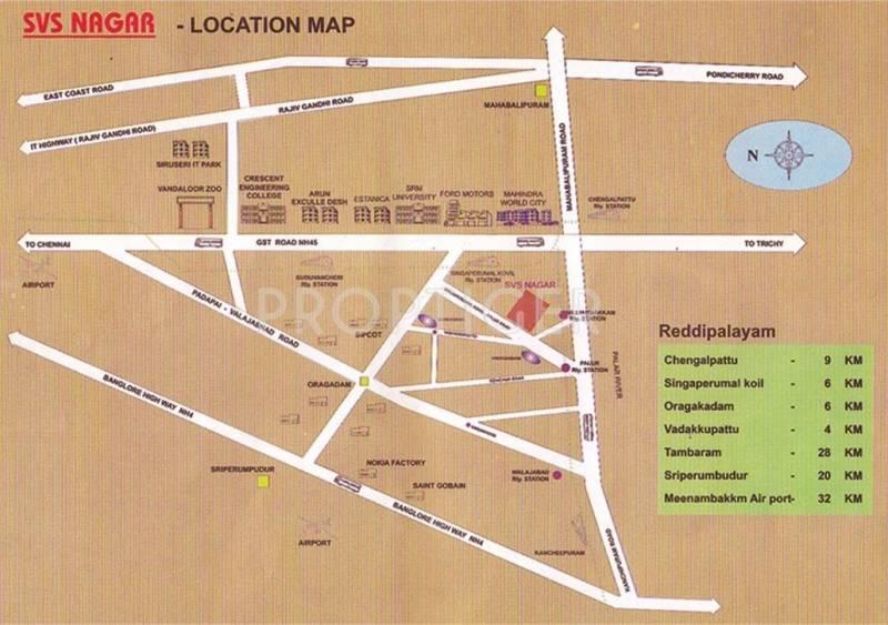 Darshan Foundation SVS Nagar Location Plan