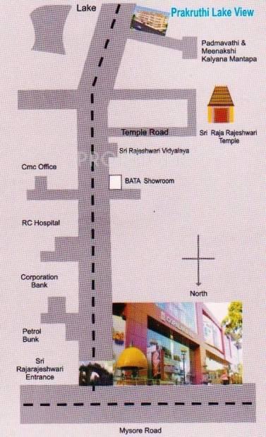 Images for Location Plan of Sai Prakruthi Lake View