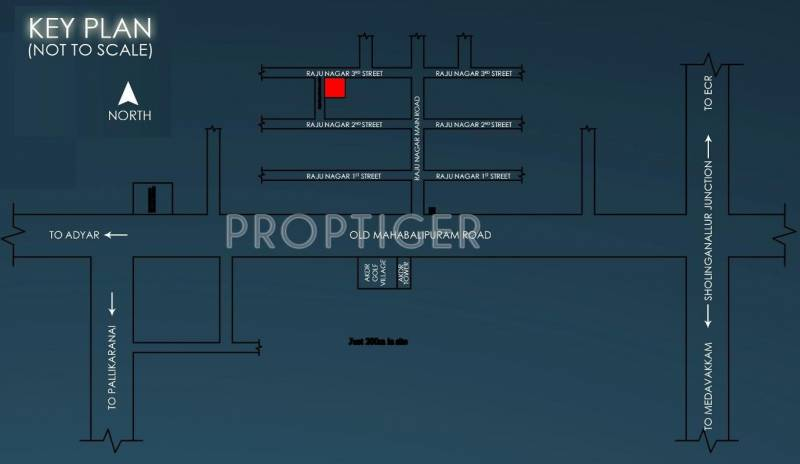 Images for Location Plan of Devi Constructions Sunny Day