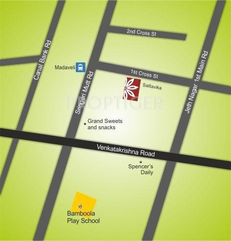 TVH Sattvika Location Plan