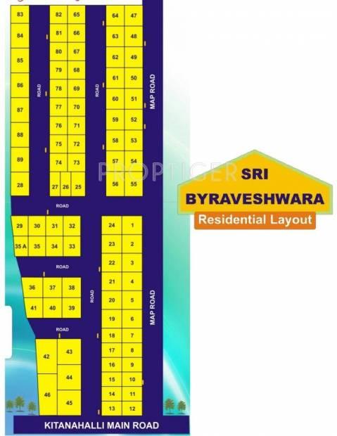 Innovative Groups Sri Byraveshwara Layout Plan