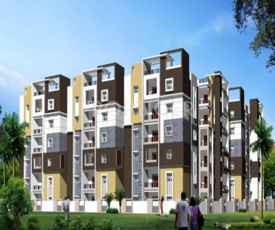 First Floor Elevation In Hyderabad : Royal serene pch in banjara hills hyderabad price