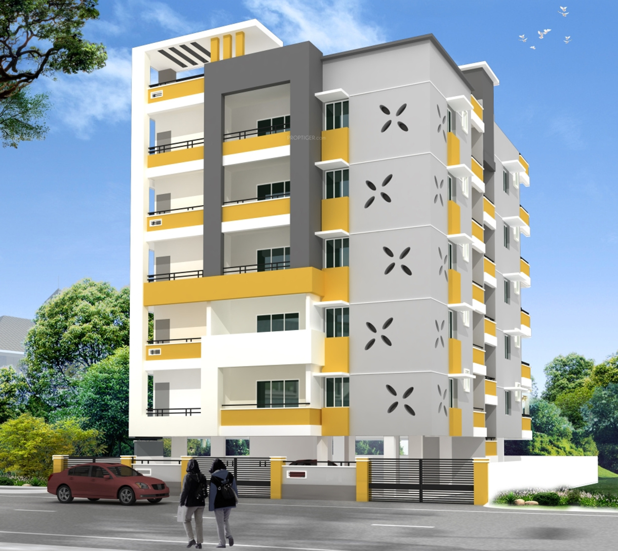 Appletree Apartments: 1200 Sq Ft 2 BHK 2T Apartment For Sale In Hallmark Maple