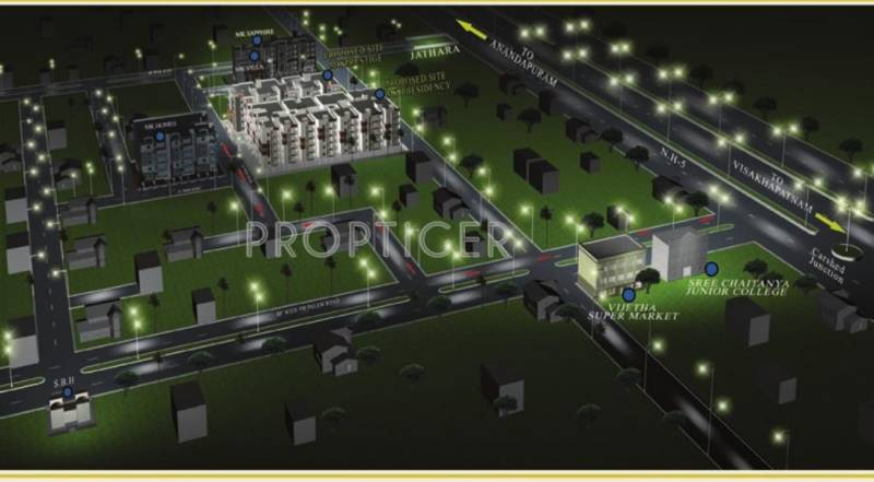 Images for Location Plan of  MK Presidency