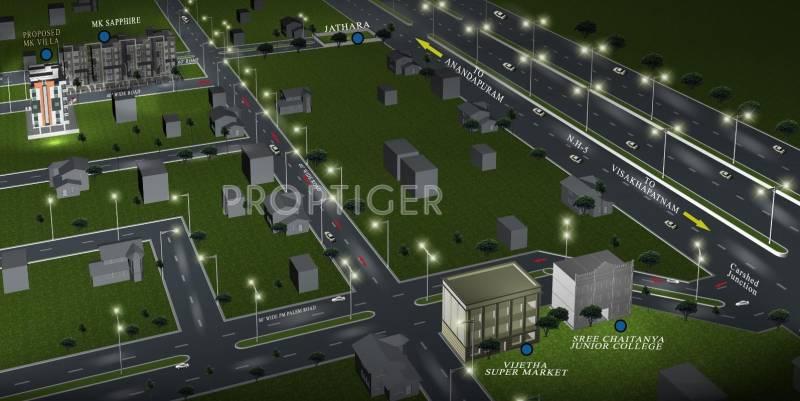 villa Images for Location Plan of  Villa