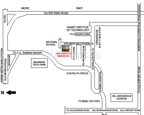 Images for Location Plan of Mathapathi Meridean