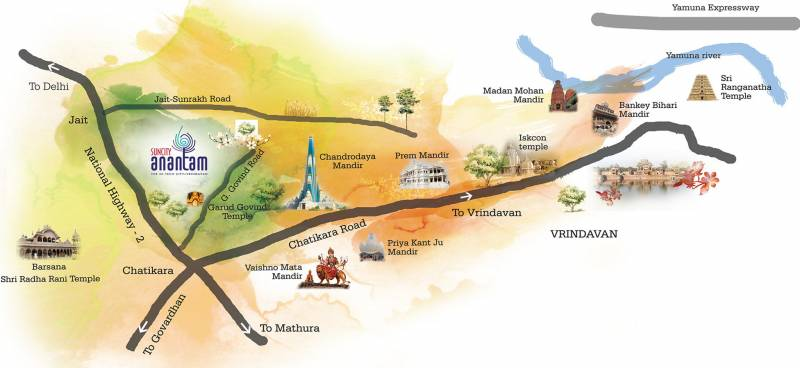 Images for Location Plan of Suncity Anantam