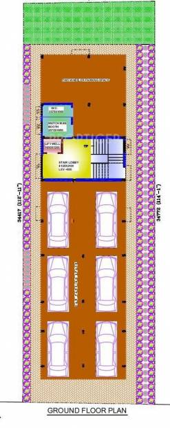 Images for Cluster Plan of MB Ayush Residency