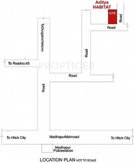 Images for Location Plan of Sri Aditya Habitat