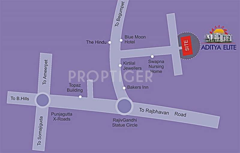 Images for Location Plan of Sri Aditya Elite