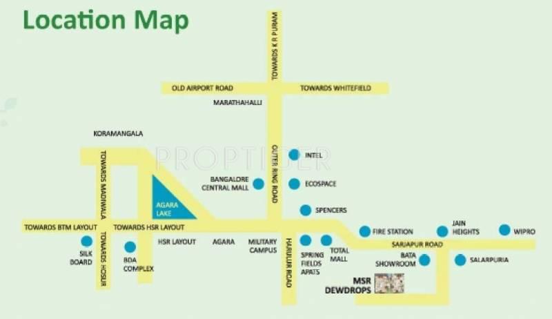 Images for Location Plan of MSR MSR Dew Drops