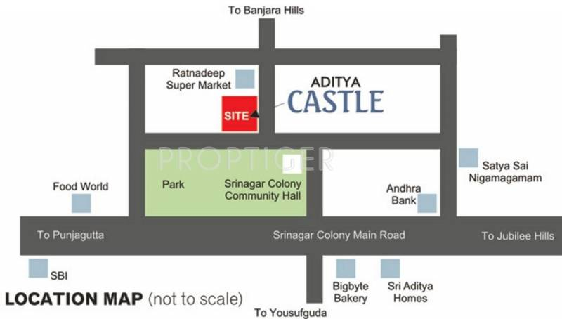 Images for Location Plan of Sri Aditya Castle