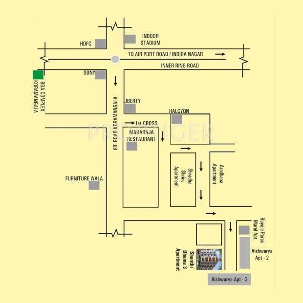 Images for Location Plan of Manasa Shanti Dhama