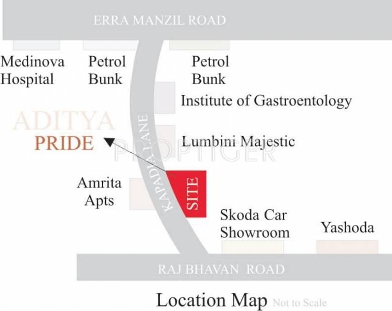 Images for Location Plan of Sri Aditya Pride