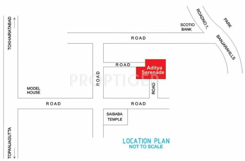 Images for Location Plan of Sri Aditya Serenade