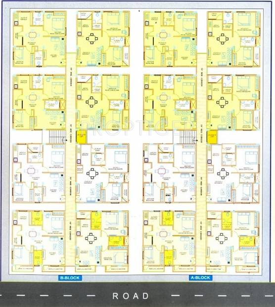 Images for Cluster Plan of Sri Sri Builders and Developers Sree Sree Shine