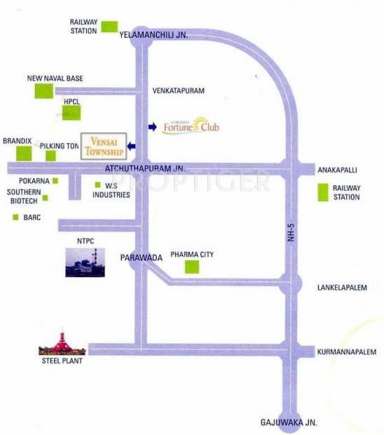 Images for Location Plan of Vasundhara Vensai Township