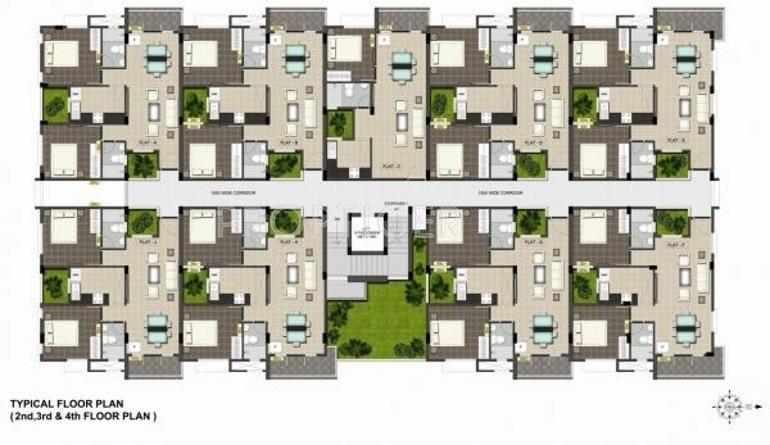 Images for Cluster Plan of Ramaniyam Real Estates Maanas