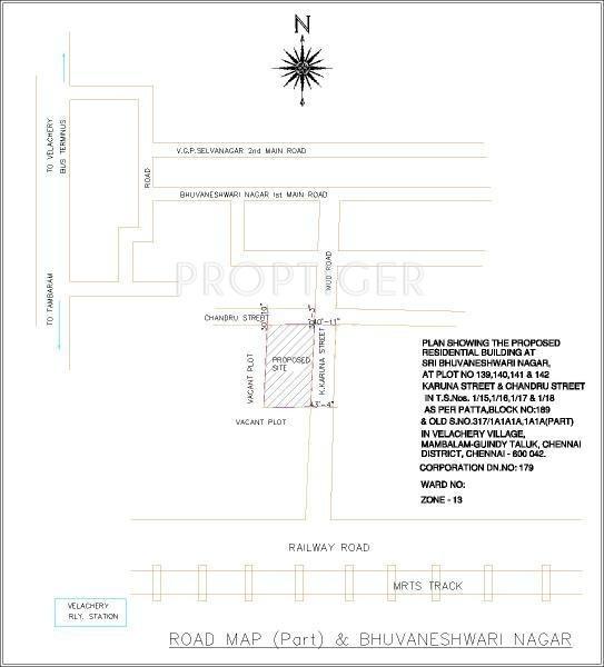 Images for Location Plan of Ramaniyam Real Estates Maanas