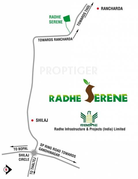 Images for Location Plan of Radhe Radhe Serene