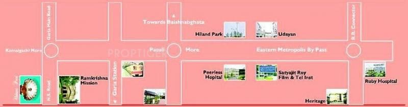 Akshara Group Pearl Location Plan