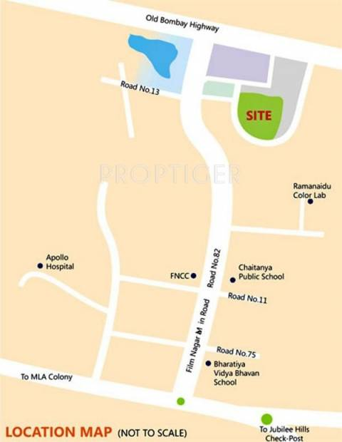 Images for Location Plan of Sri Aditya Enclave
