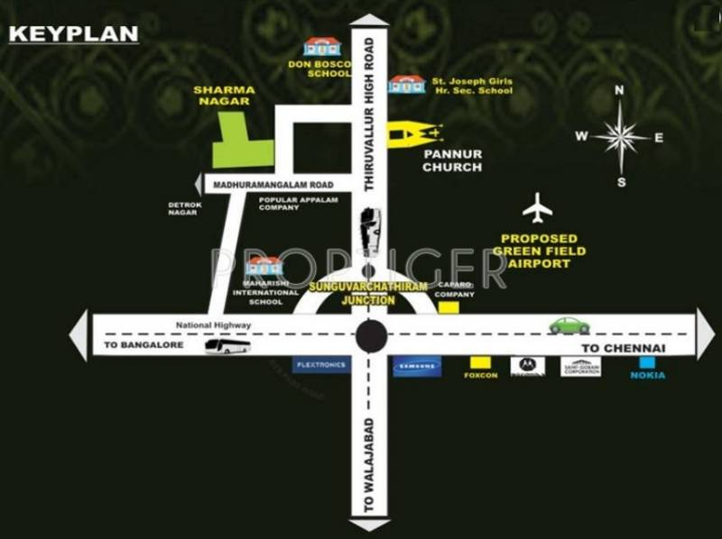 Images for Location Plan of Anbu Realtors Sharma Nagar