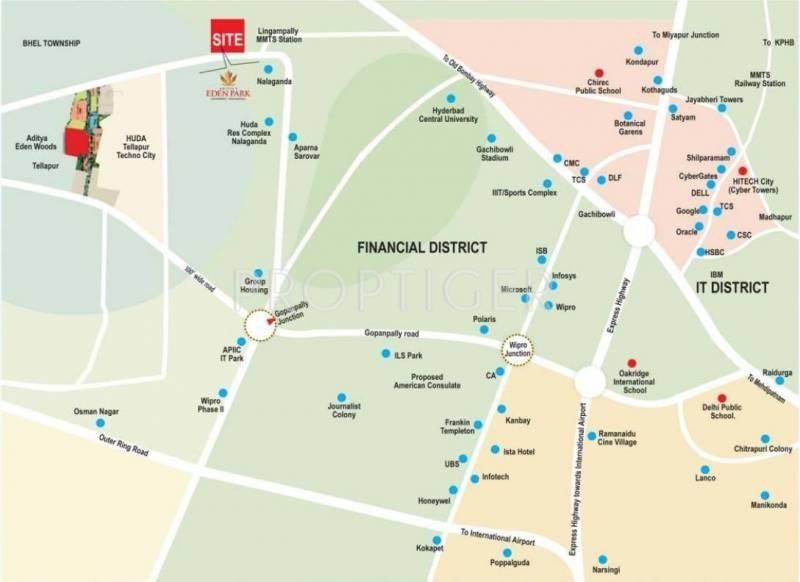 eden-park Images for Location Plan of Aditya Eden Park