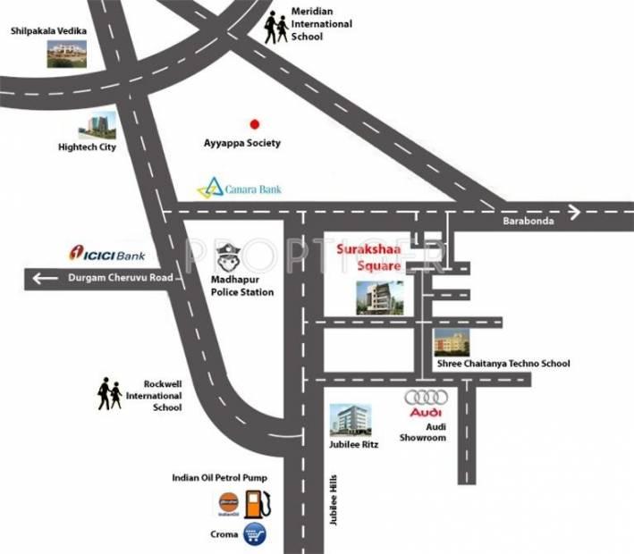 Images for Location Plan of Surakshaa Surakshaa Square