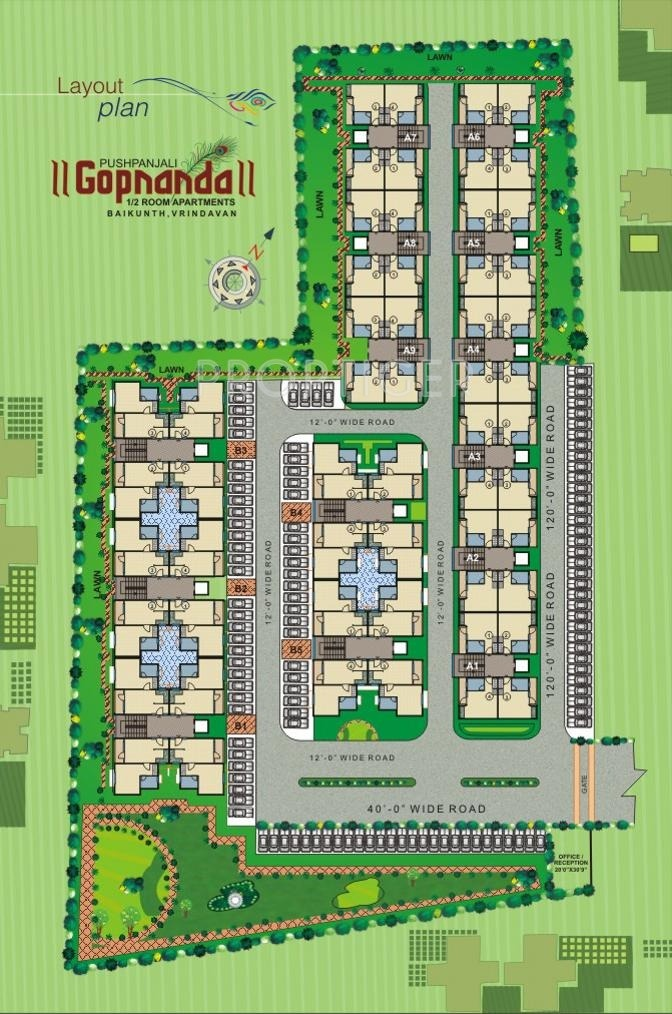 450 Sq Ft 1 Bhk 1t Apartment For Sale In Pushpanjali