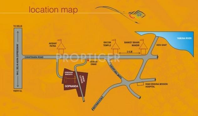 Images for Location Plan of Pushpanjali Gopananda