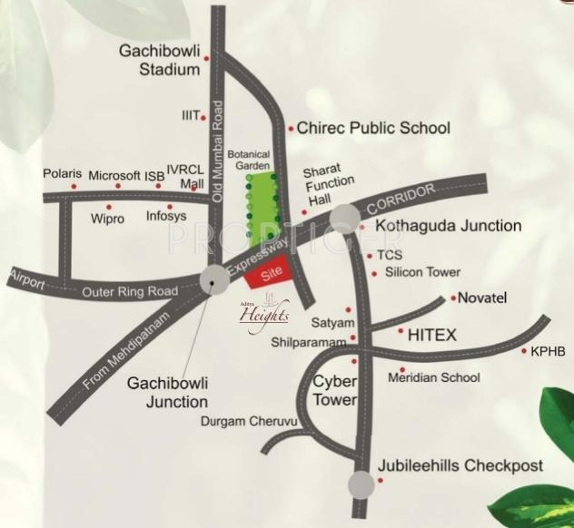 Images for Location Plan of Aditya Heights