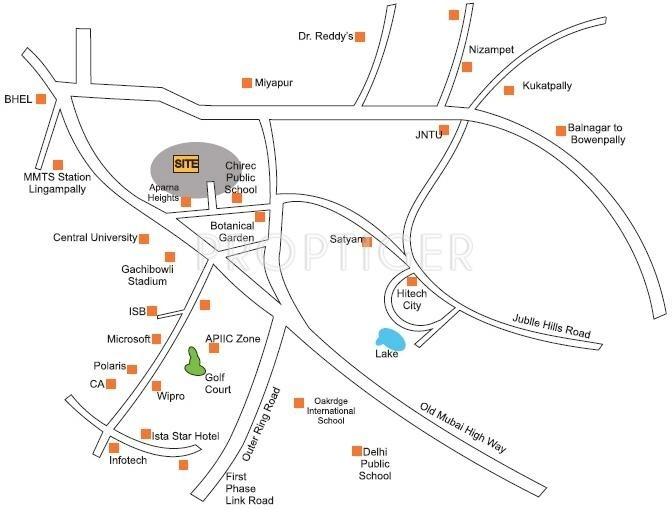 Images for Location Plan of Gauthami Alakananda Residency